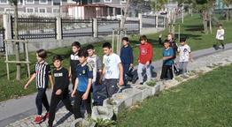 Arnavutköylüler sağlık için yürüyor