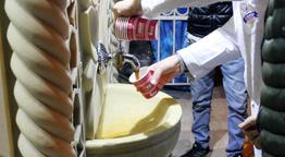 Bu çeşmelerden 7 çeşit çorba akıyor 1 yılda 450 bin bardak içildi