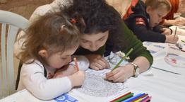 Silivri'de anne çocuk atölyeleri devam ediyor