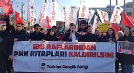Ekrem İmamoğlu şimdi ne yapacak? İBB önünde 'Selahattin Demirtaş' protestosu