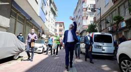 Zeytinburnu'nda bu bayram sokaklar fesleğen açtı