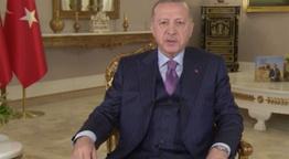 Cumhurbaşkanı Erdoğan'dan Ramazan Baramı mesajı! Bayram sonrası normalleşiyoruz