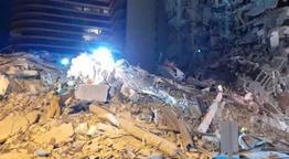 ABD Florida'da 11 katlı binada çökme meydana geldi! Ölü ve yaralılar var deniyor