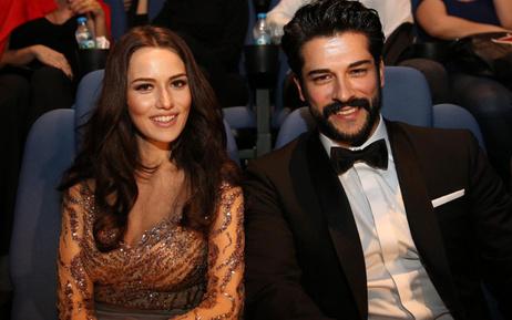 Burak Özçivit eşi Fahriye Evcen'in doğum gününde yaptı Karan'lı sürpriz