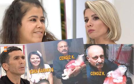 Esra Erol DNA sonuçlarını ATV canlıda açıkladı bebeğin babası komşu Cengiz mi?