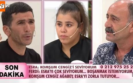 Esra Erol DNA sonuçlarını açıkladı Cengiz babası mı komşuyla ahlaksız ilişti