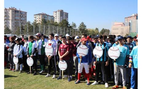Kayseri'de ilk kez beyzbol müsabakası düzenlenecek