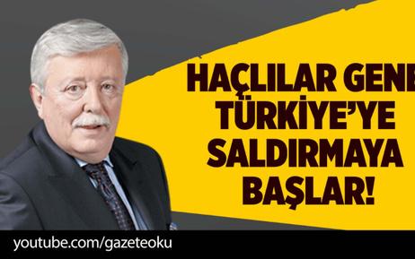 AZİZ ÜSTEL : HAÇLILAR GENE TÜRKİYE'YE SALDIRMAYA BAŞLAR!