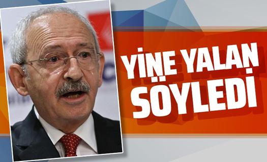 Kemal Kılıçdaroğlu'nu yalanlayan görüntüler