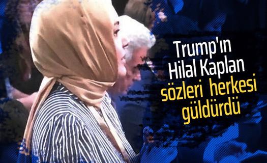 Trump'ın Hilal Kaplan'a sorusu sosyal medyayı salladı