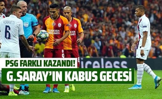 Fransa'da Galatasaray'ın kabus gecesi!
