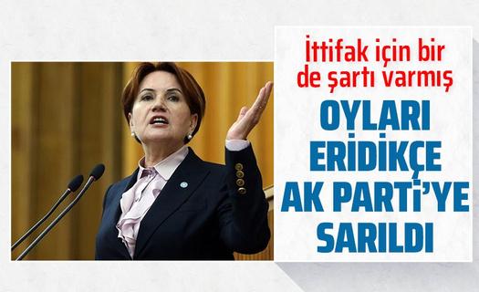 Meral Akşener AK Parti ile ittifak şartını açıkladı