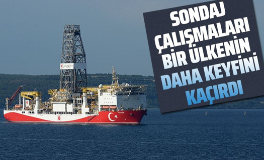 Türkiye'nin sondaj çalışmaları bir ülkeyi daha rahatsız etti