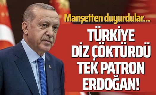 La Repubblica: Libya'da patron Erdoğan!