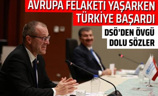 DSÖ'den Türkiye'ye övgü dolu sözler