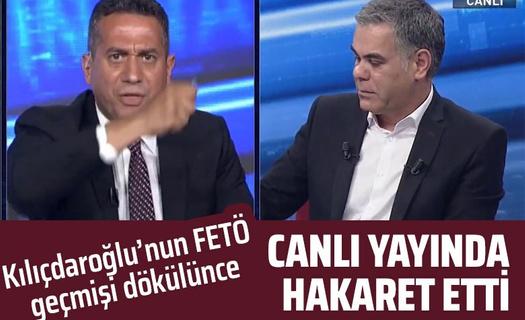 CHP'li Mahir Başarır'dan gazeteci Süleyman Özışık'a canlı yayında hakaret!