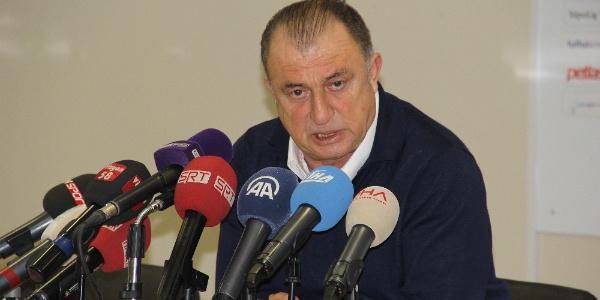 Fatih Terim'den maç sonu itiraf gibi sözler