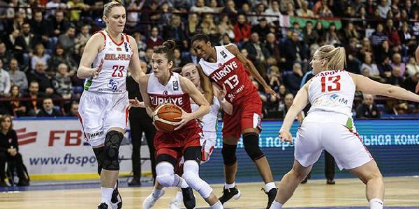 A Milli Kadın Basketbolcular 3'te 3 yaptı