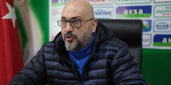 Giresunspor Başkanı Mustafa Bozbağ isyan etti