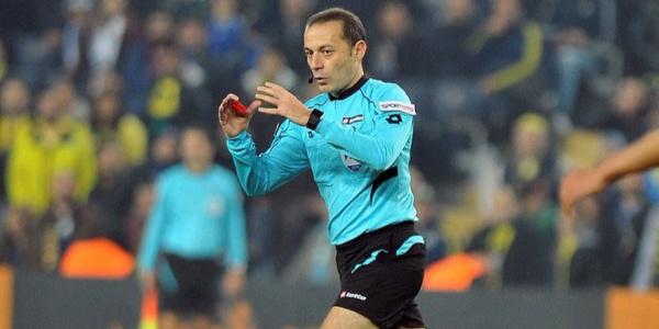 FIFA dev maça Cüneyt Çakır'ı atadı