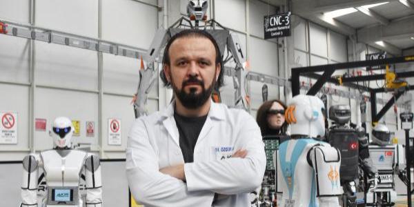 Konya'daki firma 'robot asker' üretimi için emir bekliyor