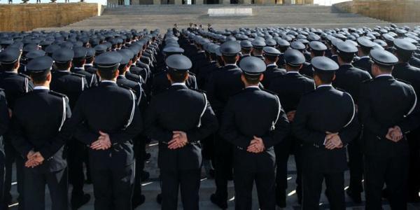 Polis Akademisine yerleşen 46 FETÖ şüphelisi için 24 ilde gözaltı kararı