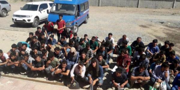 Erzurum otogarı kaçak göçmenlerin işgaline uğradı