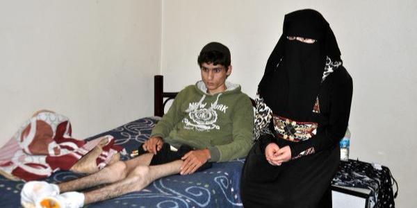 10 günlük evli Suriyeli çiftin hayatı füze saldırısı sonrası kabusa döndü