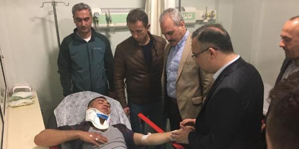Karabük'te cenazeden dönen cezaevi aracı uçuruma yuvarlandı: 2 şehit
