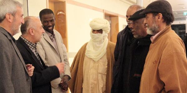 Tuareg'lerin Libya'daki önde gelen şeyhleri Türkiye'ye geldi