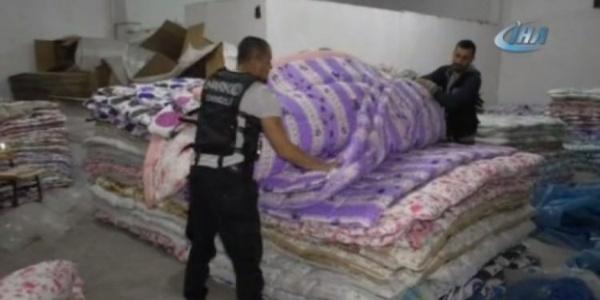 Avrupa'ya gönderilecek yorganların içinden 10 milyon euro değerinde uyuşturucu çıktı