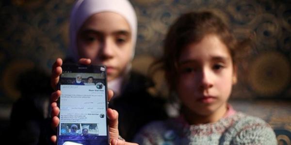 Doğu Guta'dan kurtarılan Nur ve Ala kardeşlerin Cumhurbaşkanı Erdoğan sevinci