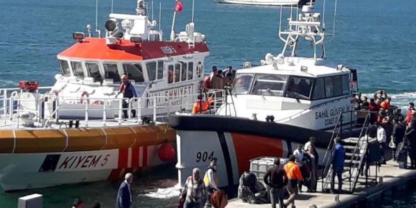 Fethiye'de dalış teknesinde bulunan 71 öğrenci kabusu yaşadı