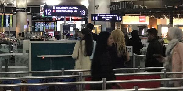 Avrupadaki uçuşları arap saçına çeviren arıza giderildi