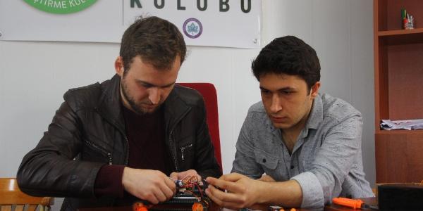 Türkiye'ye satılmayan tanker tarama robotunu  600 liraya ürettiler