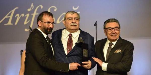 Aydın Doğan Vakfı'nın son ödülü Arif Sağ'a verildi