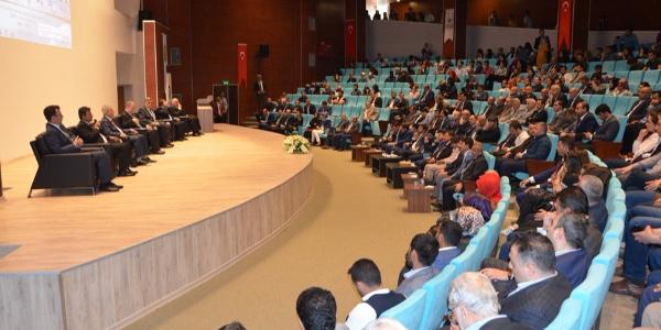 Güneydoğu Anadolu Bölgesindeki rektörler Şanlıurfa'da toplandı