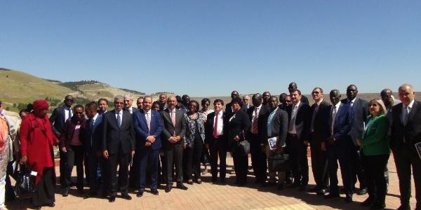 24 Afrika ülkesinin büyükelçi ve diplomatları GAP gezisine çıktı