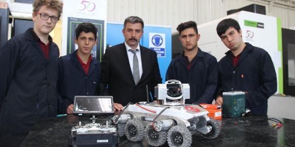 Konya'da lise öğrencilerinden TSK'ya hendekler için 'Porsuk'lu destek
