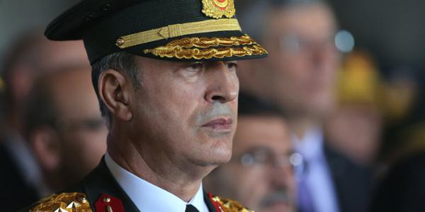"""Genelkurmay Başkanı Org. Akar Ege ve Akdeniz'de """"oldu -bitti""""lere rest çekti"""
