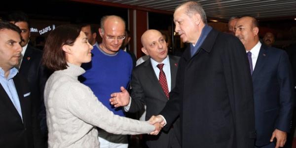 Cumhurbaşkanı Erdoğan, GATA'da yatan CHP eski lideri Deniz Baykal'ı ziyaret etti