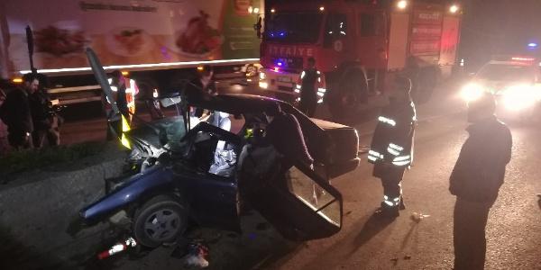 Kocaeli Çayırova gişelerinde feci kaza: 24 yaşındaki genç öldü