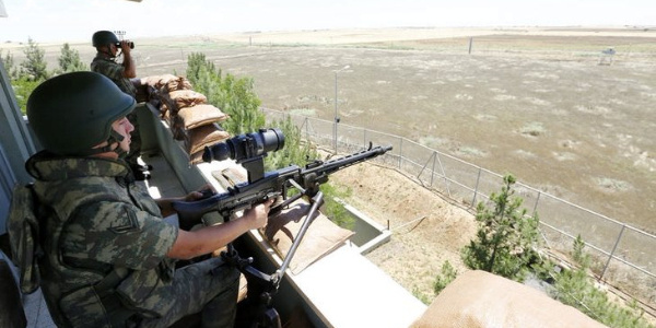 Sınır karakoluna taciz ateşine TSK'dan anında yanıt: 3 terörist öldürüldü