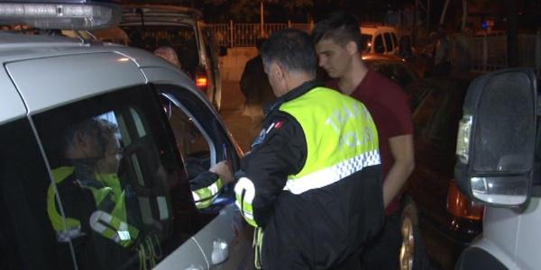 """Konya'da polisten kaçan genç sürücü yakalanınca """"Babama bir şey olacak mı?"""" diye sordu"""