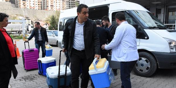 Güvenlik görevlisi Bayram Aktürk'ün organları 4 kişiye umut oldu