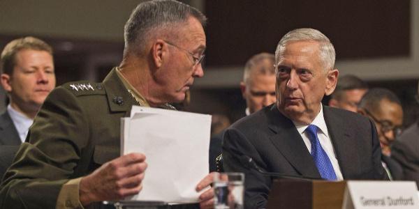 ABD Savunma Bakanı Mattis ve Genelkurmay Başkanı Dunford'dan ortak açıklama