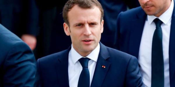 Fransa Cumhurbaşkanı Macron: Rejimin kimyasal tesisleri vuruldu
