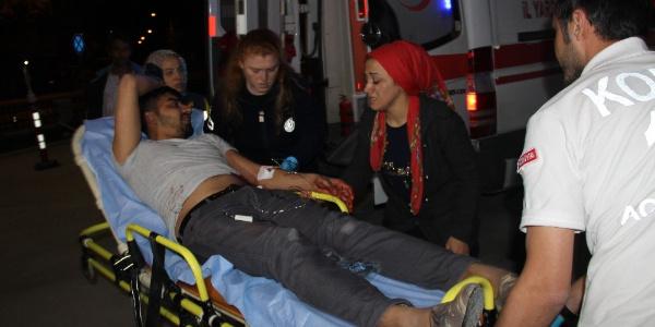 Karısına kızdı, kayınbiraderlerinin birini öldürüp ikisini ağır yaraladı