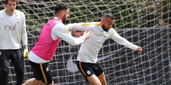 Galatasaray  ara vermeden Akhisarspor maçı için mesaiye başladı