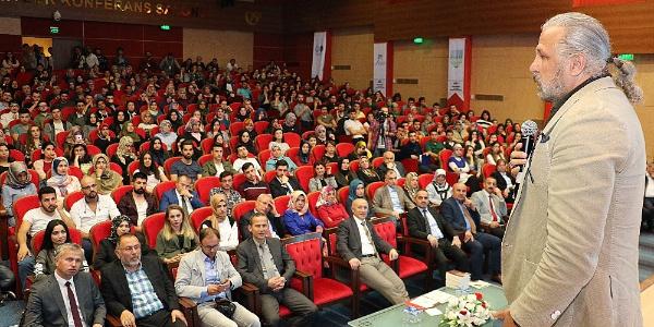 Güvenlik Uzmanı Mete Yarar'dan Karabük'te öğrencilere Türkiye dersi